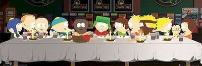 SOUTH PARK ~ LAST SUPPER SLIM 12x36 CARTOON POSTER Matt Parker Trey Stone Kyle