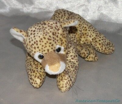 "Retired KUDDLE ME TOYS Mini Plush 8"" Spotted Soft BABY CHEETAH CUB Kitty Cat"