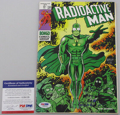 MATT GROENING Hand Signed + SKETCH 'Radioactive Man' Comic Book + PSA DNA COA