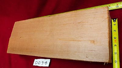 "Guitar Billet - Red Cedar Tonewood - 20"" x 7"" of Edge Grain"