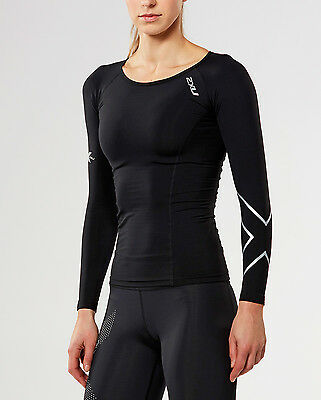 NEW 2XU Thermal Compression Long Sleeve Top Womens Shirts
