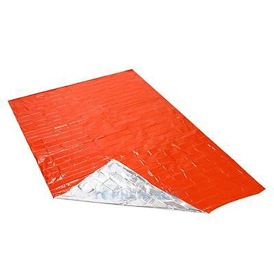 2.1*1.3m Thicken Warming Emergency Blanket Outdoor Survival Shelter Tent Kits