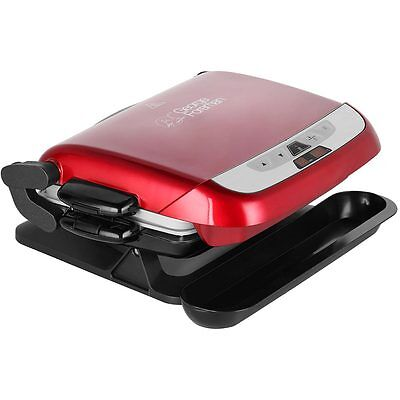 George Foreman 21611 Evolve Health Grill with Removable Plates Red New from AO