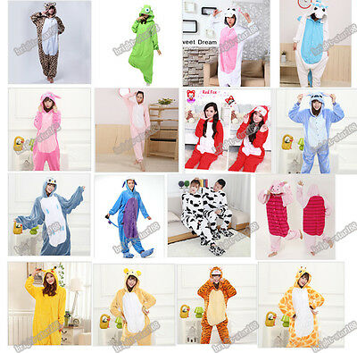 Onesie Unisex Adult Pajama Kigurumi Cosplay Costume Animal Onesie Sleepwear Suit
