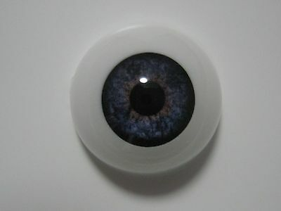 Reborn doll eyes 20mm Half Round  TWILIGHT BLUE