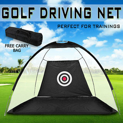 Portable Golf Training Net Practice Driving Chipping Soccer Cricket Target Tent