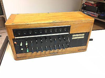 Vintage Old Electrical Mechanical Portuguese made PBX