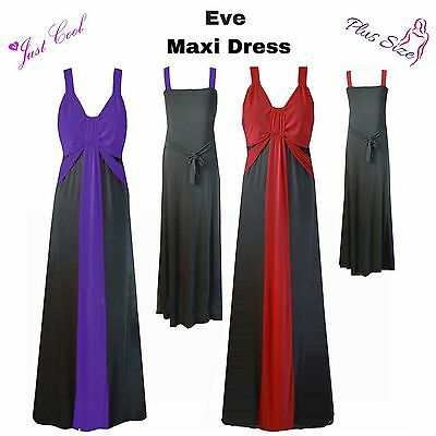 Eve Ladies Womens Curvy Maxi Dress Special Occasions Weddings Plus Sizes Sexy