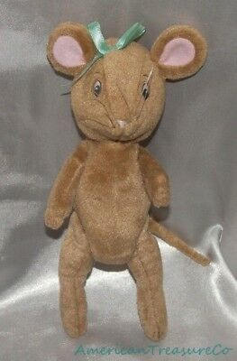 "2001 AMERICAN GIRL Plush 10"" Posable Jointed ANGELINA BALLERINA Mouse Sewn Eyes"