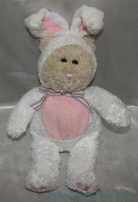 "2003 STARBUCKS Plush 10"" 26th ED EASTER BUNNY BEARISTA BEAR Rabbit Posable Ears"