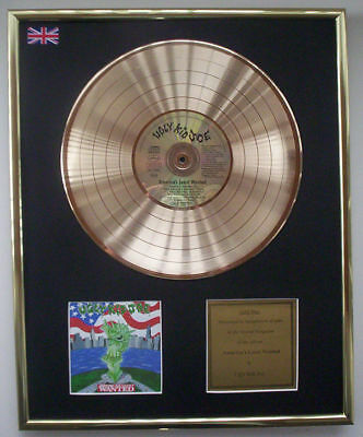 Ugly Kid Joe Americas Least Wanted Cd Gold Disc Record Lp Display Free P&p!