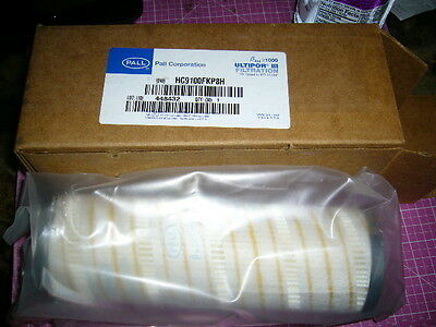 Hydraulic Filter Element, PALL, HC9100FKP8H, NEW-Plastic Sealed item!