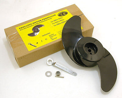 Electric Outboard Propeller Kit Fits Bison ,daiwa Excursion And Other Motors