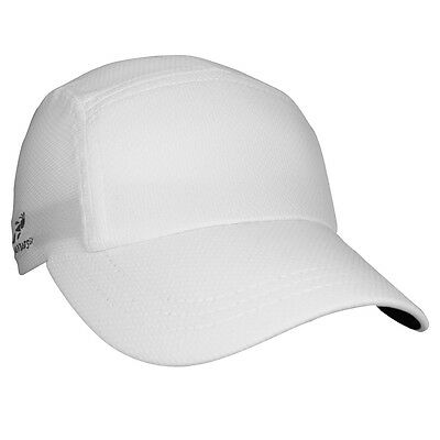 Brand New Headsweats Race Running Fitness Sports Hat Cap, One Size, White