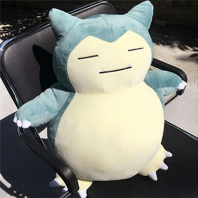 "20"" NEW Pokemon Go Snorlax Plush Soft Teddy Stuffed Dolls Kids Toy Xmas Gift"