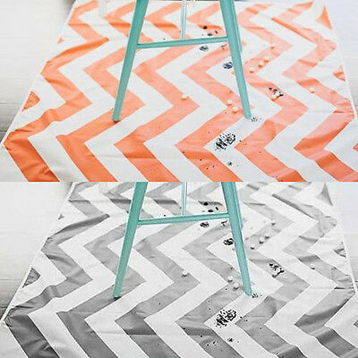 Prince Lionheart Floor Mat Highchair Feeding Multi Purpose Catch All Chevron