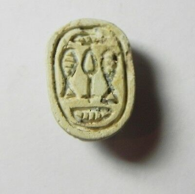 Zurqieh -Af688- Ancient Egypt ,2Nd Intermediate Stone Scarab. 1782 - 1570 B.c