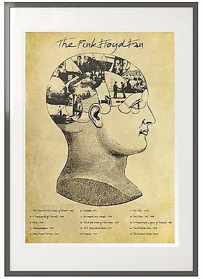 Pink Floyd Fan - Perfect Gift: Art Print/Poster featuring all Albums