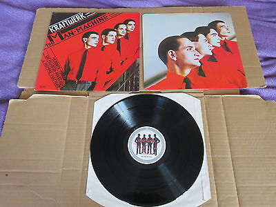 KRAFTWERK The Man Machine LP & INNER SLEEVE RARE 1978 ORIGINAL UK 1ST PRESSING