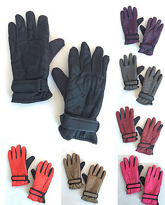 Womens Winter Outdoor Sports Ski Thermal Insulation Waterproof Gloves Mittens