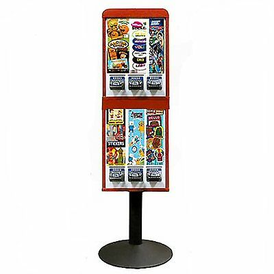 6 Colume Sticker and Tattoo Vending Machine