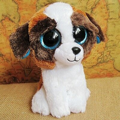 New Gifts Ty Beanie Boos Boo Character Cute dog Big Eyes Soft Plush Toy Dolls
