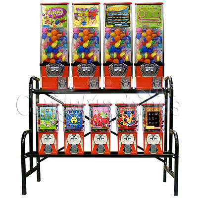 9 Unit Toy Vending Rack Combo