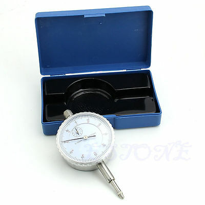 NEW  Gauge Accuracy Measurement Instrument Precision Tool 0.01mm Dial Indicator