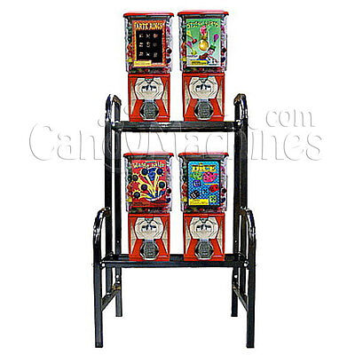 4 Unit Bulk Vending Rack Combo