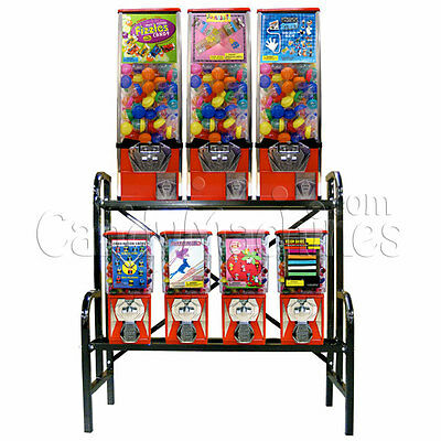 7 Unit Bulk Vending Rack Combo