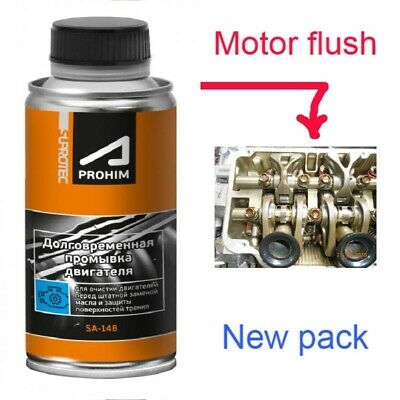 "SUPROTEC motor flush ""Softly"" (gradually) deletes the pollution formed in engine"