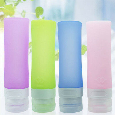 Colorful Silicone Empty Tubes Travel Bottle Shampoo Conditione Storage Bottle