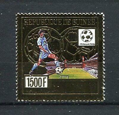 27369) GUINEA 1991 MNH** Nuovi** W. Soccer Champ. Italy