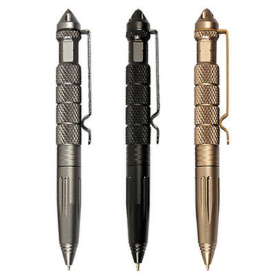 Aviation Aluminum Self Defense Tactical Military Pen Glass Breaker Tool Enticing