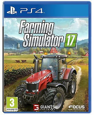 Farming Simulator 17 Ps4 Game - Brand New And Sealed
