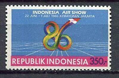 38225) INDONESIA 1986 MNH** Airshow 1v