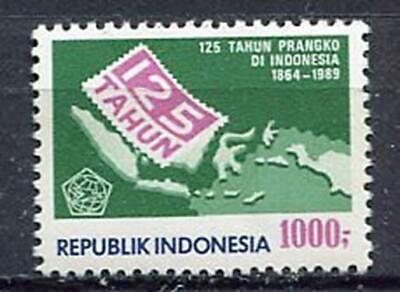 38228) INDONESIA 1989 MNH** 125 years stamps 1v