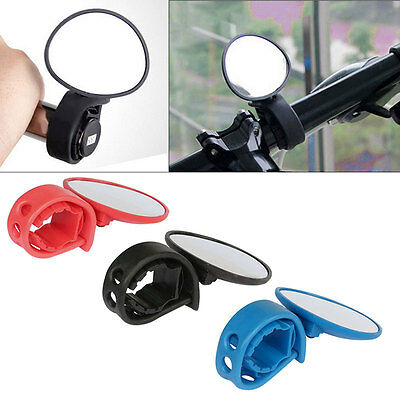 Flexible Handlebar Cycling MTB Bike Bicycle Rear View Rearview Mirror Safety