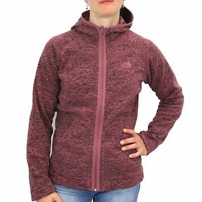 The North Face Nikster Full Zip Hoodie Jacke Fleecejacke Outdoor Kapuze Damen