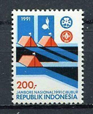 38342) INDONESIA 1991 MNH** Scouting 1v