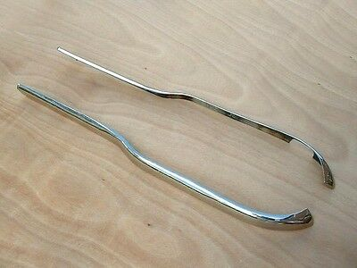 "Lambretta  Series 1 & 2 Side Protectors ""stainless""  -   New"