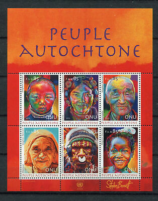 s10536) UNITED NATIONS (GENEVE) MNH** 2012, Indigenous people 6v m/s