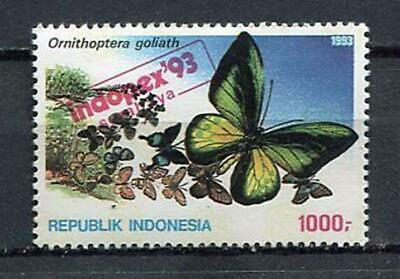 38349) INDONESIA 1992 MNH** Indopex 1v Butterfly