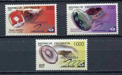 38351) INDONESIA 1997 MNH** Minerals 3v