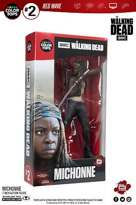 Michonne The Walking Dead Color Tops #2 Red Wave 18 cm Figur McFarlane