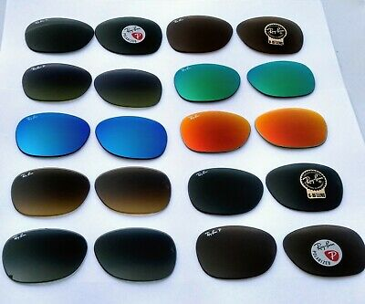 New Ray Ban Replacement lenses RB2132 Wayfarer 100% Authentic