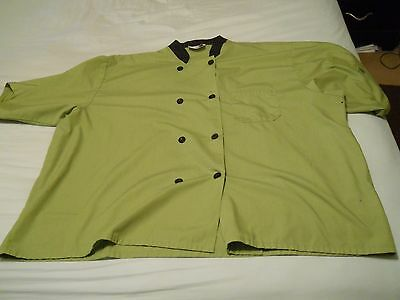 HAPPY CHEF 'Green Tea' Button-Up/3 Pocket Chef Jacket...Style #505T...Size/4XL
