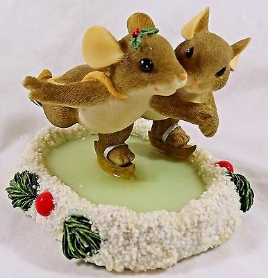 Charming Tails Figurine  Skating Through the Season with You