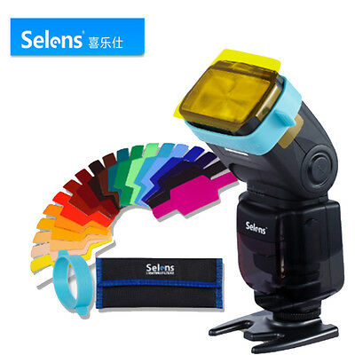 Photo camera Selens Gels Filter 20pcs for FLash Speedlite with Gels-Band