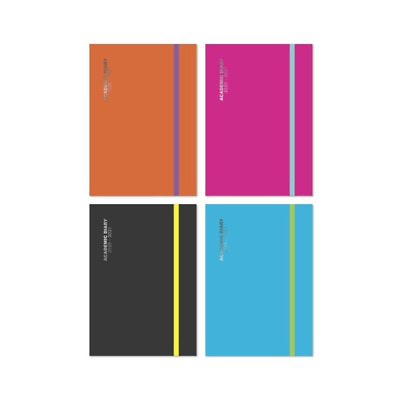 Tallon  2019-2020 A5 Size Academic Mid-Year Day A Page Diary -4 Colors to Choose